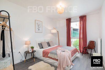 home staging chambre fbo france La Baule maison témoin