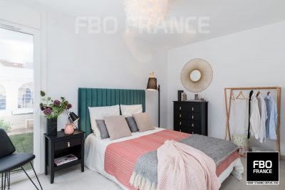 home staging chambre fbo france Paris maison témoin