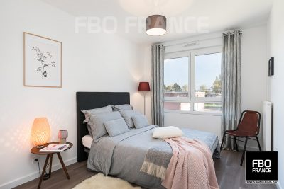 home staging chambre fbo france Vendée appartement témoin