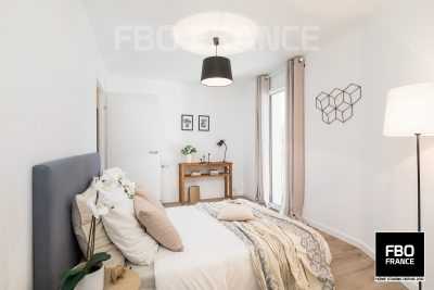 home staging chambre fbo france Bretagne appartement témoin