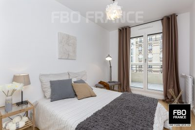 home staging chambre fbo france Rennes appartement témoin
