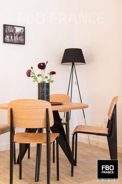 home staging séjour fbo france Bretagne appartement témoin