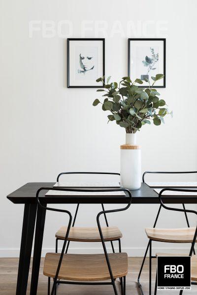 home staging séjour fbo france Paris appartement témoin