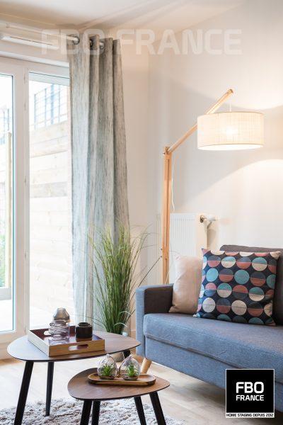 home staging salon fbo france Vendée appartement témoin