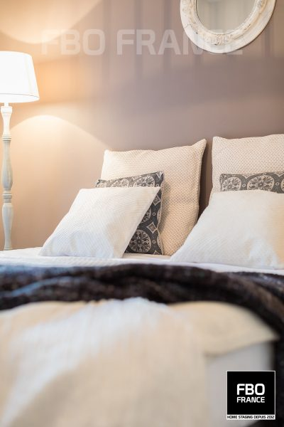 home staging chambre fbo france Tours appartement témoin