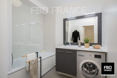 home staging salle de bain fbo france Le Mans appartement témoin