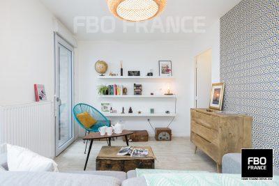 home staging séjour fbo france Rennes appartement témoin
