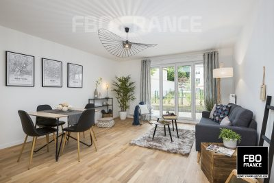 home staging séjour fbo france Ile de France maison témoin