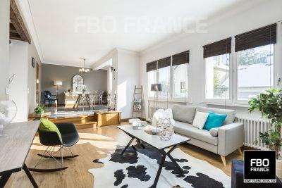 home staging séjour fbo france La Baule