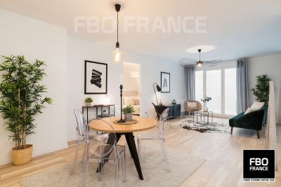 home staging séjour fbo france La Baule appartement témoin