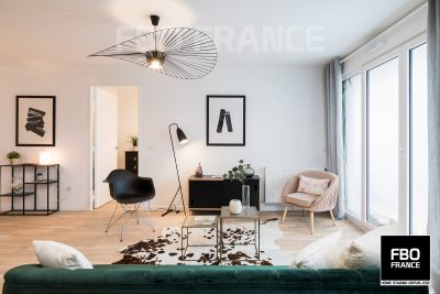 home staging séjour fbo france Tours appartement témoin