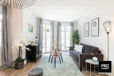 home staging séjour fbo france Paris appartement témoin