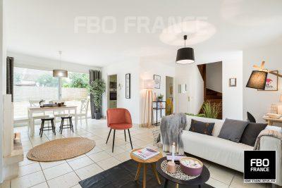 home staging séjour fbo france Nantes maison témoin