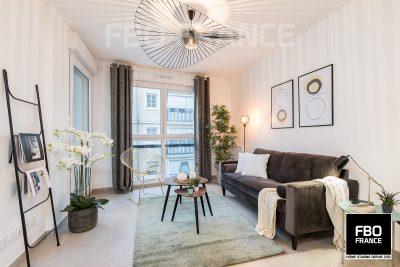 home staging salon fbo france La Baule appartement témoin