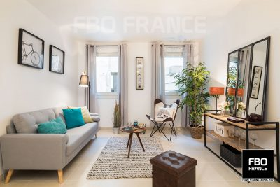 home staging salon fbo france Le Mans appartement témoin