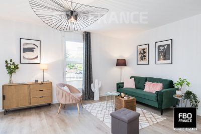 home staging salon fbo france Rennes appartement témoin