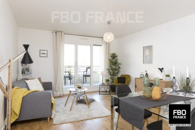 home staging salon fbo france Ile de France appartement témoin