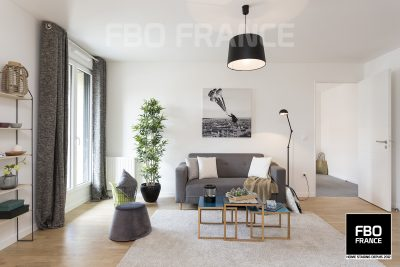 home staging salon fbo france La Baule appartement témoin